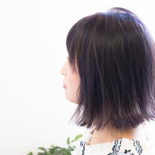 デート おフェロ ストリート 切りっぱなし ヘアスタイルや髪型の写真・画像