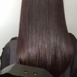 デート ロング 黒髪 大人かわいい ヘアスタイルや髪型の写真・画像