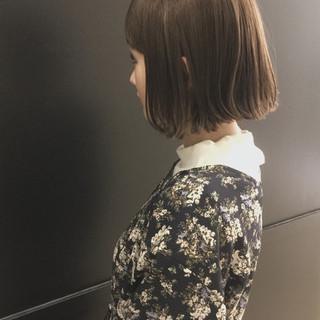 切りっぱなし 大人かわいい フェミニン 大人女子 ヘアスタイルや髪型の写真・画像