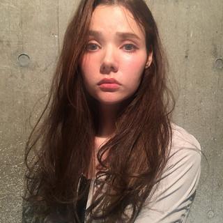 ロング 女子会 デート ナチュラル ヘアスタイルや髪型の写真・画像
