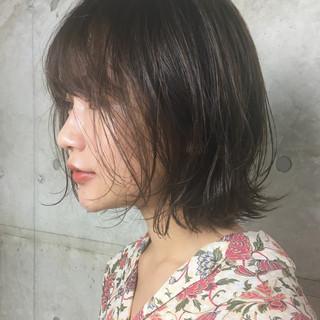 ボブ パーティ ゆるふわ フェミニン ヘアスタイルや髪型の写真・画像