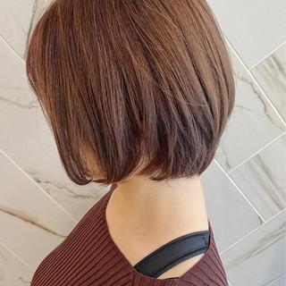 ミニボブ アンニュイ 銀座美容室 愛され ヘアスタイルや髪型の写真・画像