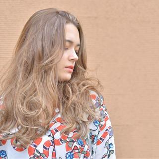 ハイライト 外国人風 ピュア ナチュラル ヘアスタイルや髪型の写真・画像