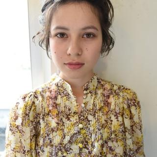 デート 大人かわいい ショートボブ 外国人風 ヘアスタイルや髪型の写真・画像 ヘアスタイルや髪型の写真・画像