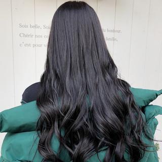切りっぱなしボブ ショートボブ ウルフカット ロング ヘアスタイルや髪型の写真・画像