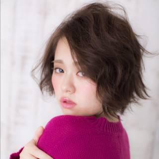 愛され モテ髪 ガーリー ボブ ヘアスタイルや髪型の写真・画像