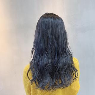 ストリート セミロング グレージュ ブルージュ ヘアスタイルや髪型の写真・画像 ヘアスタイルや髪型の写真・画像