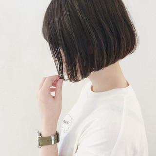 女子会 黒髪 ショートボブ デート ヘアスタイルや髪型の写真・画像 ヘアスタイルや髪型の写真・画像