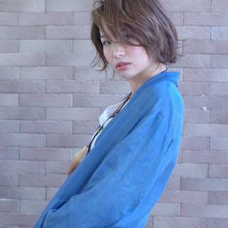簡単 ボブ ストリート 大人女子 ヘアスタイルや髪型の写真・画像 ヘアスタイルや髪型の写真・画像