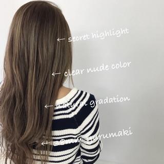 セミロング ゆるふわ ヘアアレンジ ナチュラル ヘアスタイルや髪型の写真・画像