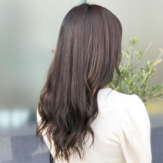 エフォートレス ロング 女子力 ナチュラル ヘアスタイルや髪型の写真・画像 ヘアスタイルや髪型の写真・画像