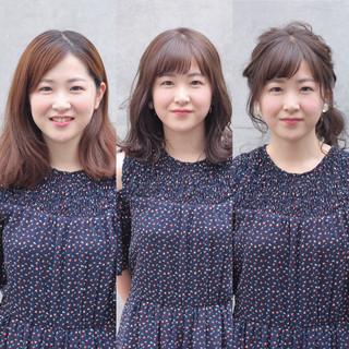 色気 ヘアアレンジ 涼しげ 夏 ヘアスタイルや髪型の写真・画像