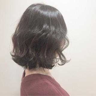 色気 ハイライト ボブ ガーリー ヘアスタイルや髪型の写真・画像