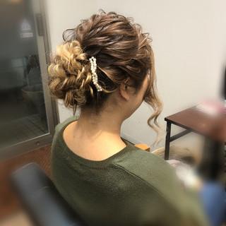 成人式 ヘアアレンジ アップスタイル フェミニン ヘアスタイルや髪型の写真・画像