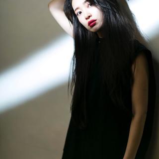 透明感カラー ナチュラル ロング アンニュイほつれヘア ヘアスタイルや髪型の写真・画像 ヘアスタイルや髪型の写真・画像