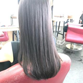 ロング 透明感 透明感カラー 圧倒的透明感 ヘアスタイルや髪型の写真・画像