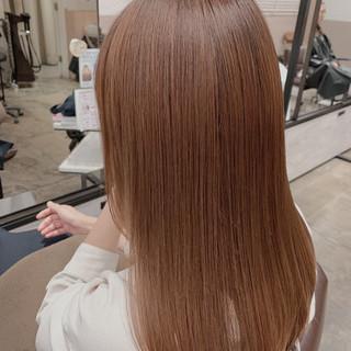 髪質改善トリートメント ロング 髪質改善カラー 360度どこからみても綺麗なロングヘア ヘアスタイルや髪型の写真・画像