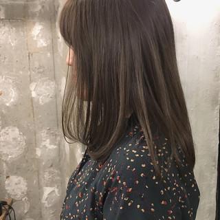 結婚式 ナチュラル デート ミディアム ヘアスタイルや髪型の写真・画像