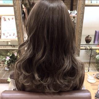 アッシュ 外国人風 外国人風カラー グラデーションカラー ヘアスタイルや髪型の写真・画像