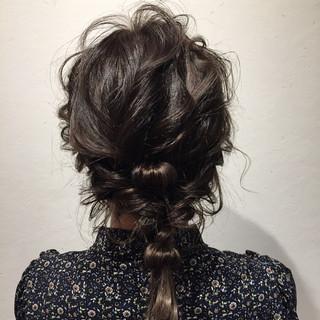 結婚式 デート 簡単ヘアアレンジ ヘアアレンジ ヘアスタイルや髪型の写真・画像 ヘアスタイルや髪型の写真・画像