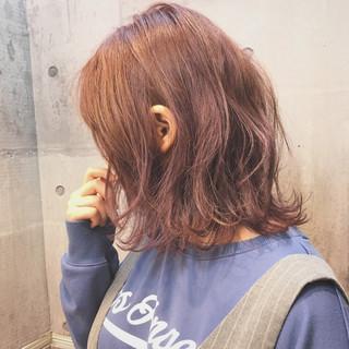 外ハネ ロブ ナチュラル ボブ ヘアスタイルや髪型の写真・画像 ヘアスタイルや髪型の写真・画像