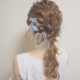 ヘアアレンジ ロング ナチュラル モテ髪 ヘアスタイルや髪型の写真・画像 ヘアスタイルや髪型の写真・画像