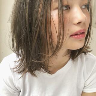 ミディアム ガーリー スポーツ アウトドア ヘアスタイルや髪型の写真・画像