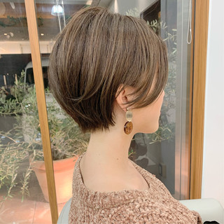 可愛い ふんわりショート ショートヘア ショート ヘアスタイルや髪型の写真・画像
