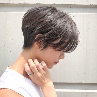 女子力 ショート ヘアアレンジ ショートボブ ヘアスタイルや髪型の写真・画像