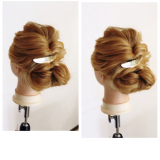 モテ髪 ロング 簡単ヘアアレンジ 外国人風 ヘアスタイルや髪型の写真・画像