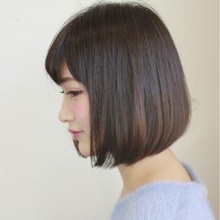 ストリート 暗髪 大人女子 おフェロ ヘアスタイルや髪型の写真・画像