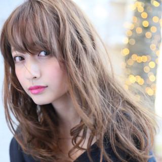 モード トレンド くせ毛風 ミディアム ヘアスタイルや髪型の写真・画像