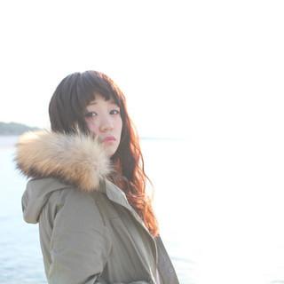 黒髪 ガーリー 透明感 外国人風カラー ヘアスタイルや髪型の写真・画像 ヘアスタイルや髪型の写真・画像