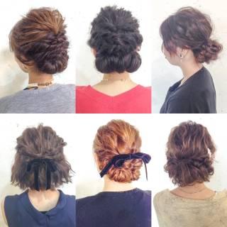 アップスタイル ウェーブ ヘアアレンジ 結婚式 ヘアスタイルや髪型の写真・画像 ヘアスタイルや髪型の写真・画像