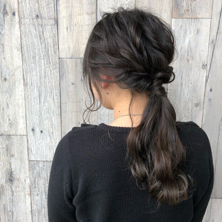 ロング 外国人風 簡単ヘアアレンジ 外国人風カラー ヘアスタイルや髪型の写真・画像