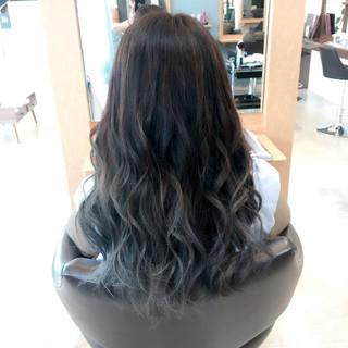 外国人風カラー フェミニン ロング モテ髪 ヘアスタイルや髪型の写真・画像