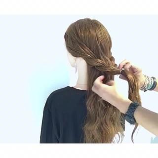 デート 上品 ロング エレガント ヘアスタイルや髪型の写真・画像