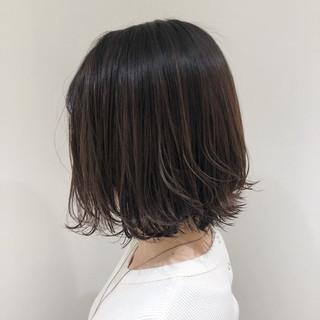 大人ハイライト 外国人風カラー ブリーチカラー ボブ ヘアスタイルや髪型の写真・画像