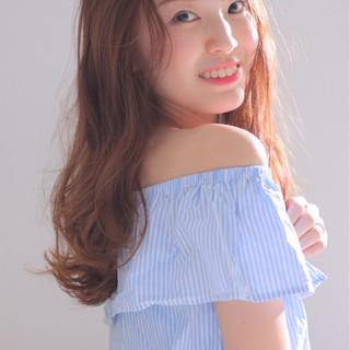 フェミニン かわいい 色気 モテ髪 ヘアスタイルや髪型の写真・画像