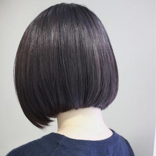 ボブ ナチュラル 前下がり ショート ヘアスタイルや髪型の写真・画像 ヘアスタイルや髪型の写真・画像