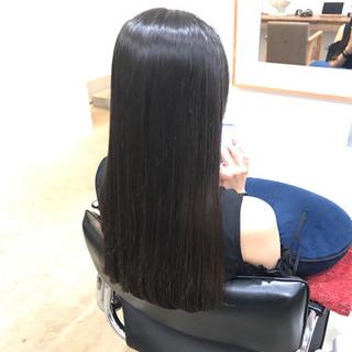ナチュラル ロング デート トリートメント ヘアスタイルや髪型の写真・画像