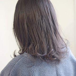 外ハネボブ グレージュ ボブ 外国人風カラー ヘアスタイルや髪型の写真・画像