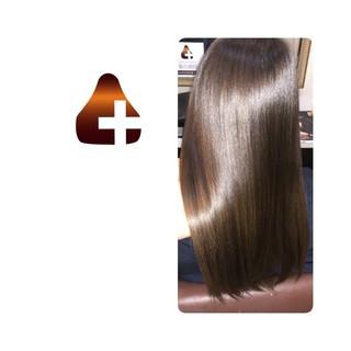 ロング ナチュラル 頭皮ケア トリートメント ヘアスタイルや髪型の写真・画像