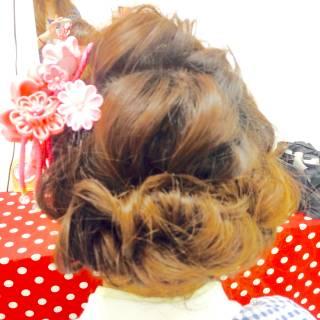 ロング コンサバ ヘアアレンジ ショート ヘアスタイルや髪型の写真・画像