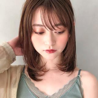 大人ヘアスタイル ワンカール デジタルパーマ 大人ミディアム ヘアスタイルや髪型の写真・画像