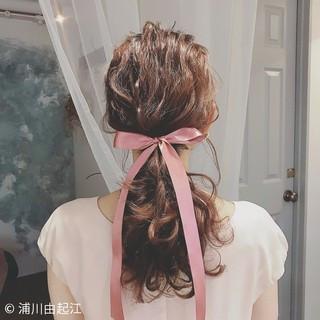 エレガント ロング 外国人風 大人かわいい ヘアスタイルや髪型の写真・画像