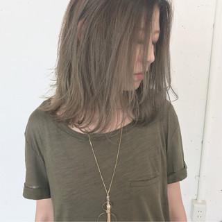 グラデーションカラー ゆるふわ 秋 大人かわいい ヘアスタイルや髪型の写真・画像