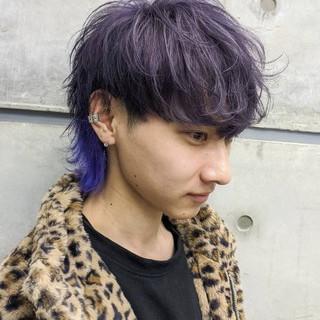 マッシュウルフ メンズショート メンズスタイル モード ヘアスタイルや髪型の写真・画像