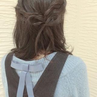 黒髪 ゆるふわ ヘアアレンジ ボブ ヘアスタイルや髪型の写真・画像 ヘアスタイルや髪型の写真・画像