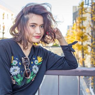 フェミニン 外国人風 ナチュラル ストリート ヘアスタイルや髪型の写真・画像